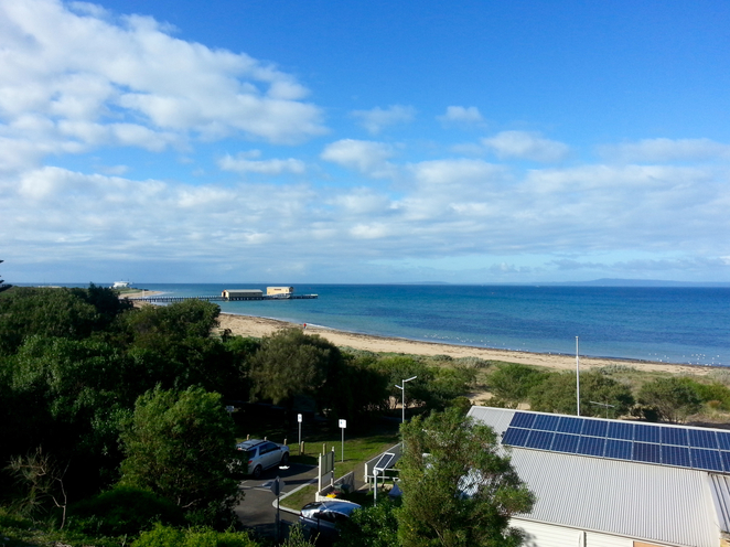 citizen's Park, Queenscliffe, Queenscliffe foreshore Reserve, Playground, Picnic spot, BBQ, public bbq, barbecue, electric barbecues, recreation, park, foreshore, bellarine, view, scenery,