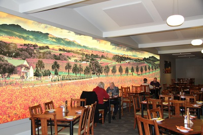 Clubhouse Mural