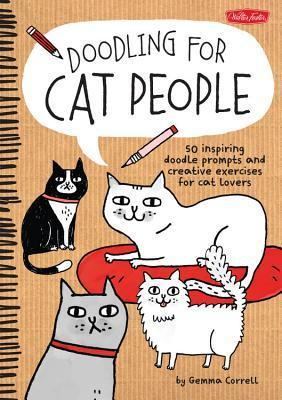 doodling for cat people, doodling, how to draw books, books for cat lovers, books about cats, Doodling for Cat People, Gemma Correll