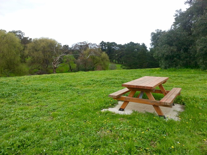 Edsall Reserve, Wallington, Bellarine Peninsula, Bellarine Highway, Picnic Tables