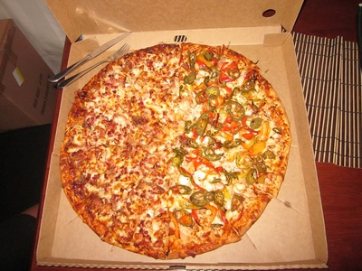 Enormous Animal Pizza