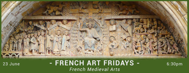 french art, 2017, friday, Alliance Française, Florence Thiriot, west end, cultural, visual arts, wine, middle ages