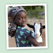 Give a goat to a family from OXFAM for Easter
