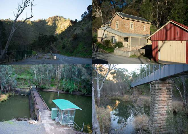 Gorge Road, weir, athelstone, Torrens