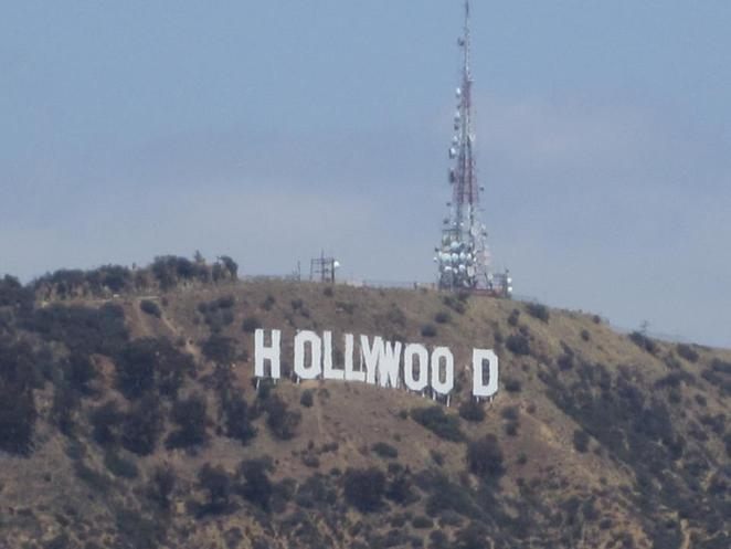 hollywood sign LA Los angeles