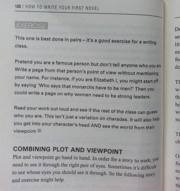 How to write your first novel, Sophie King, Book, Writing Exercises