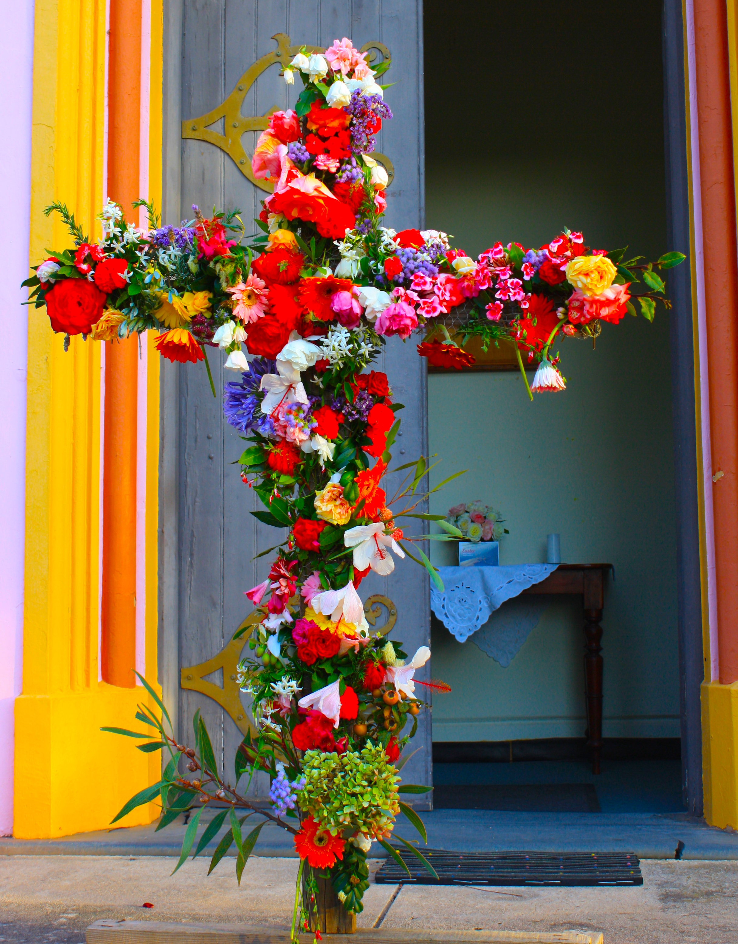 Easter and The Flowering of the Cross - Everywhere