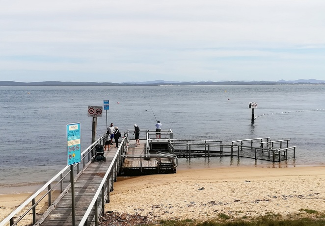 little beach, nelson bay, shoal bay, things to do, swimming, fishing, NSW, port stephens, boat ramp, snorkeling, fly point,