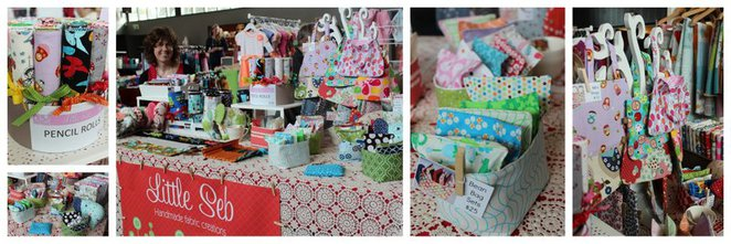 Little Seb, handmade fabric gifts, melbourne markets
