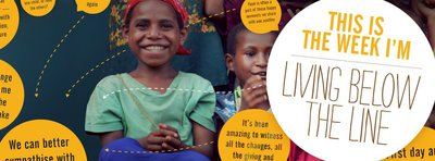 Live Below the Line, Oaktree Foundation, extreme poverty, poverty eradication, fundraising, global poverty
