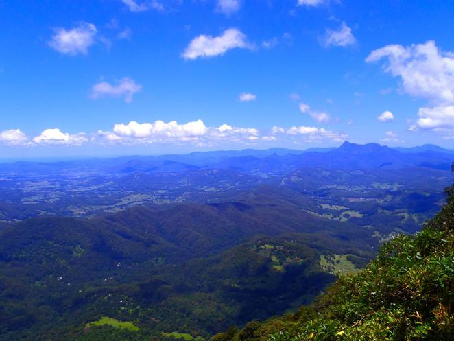 Lookouts, Scenic drives, Springbrook National Park, Purling Brook Falls, Gold Coast Hinterland, national parks, nature, bush walk, waterfall, relaxing