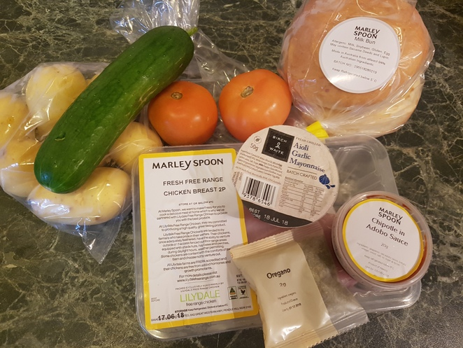 marley spoon meal recipe delivery