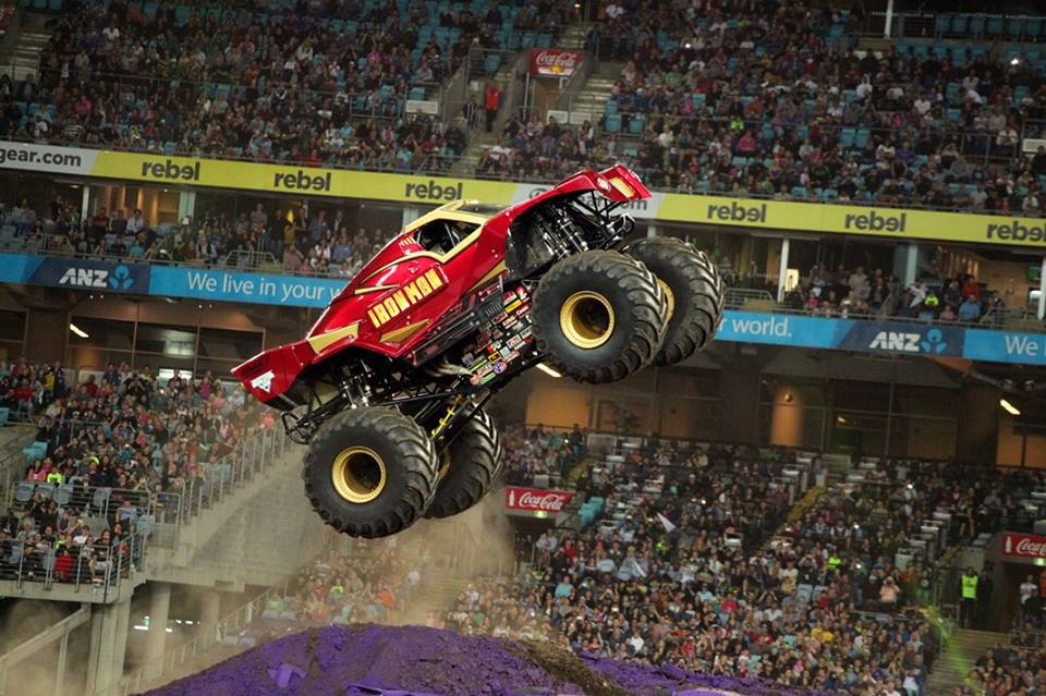 monster jam sydney pitpass gurmit - photo#6
