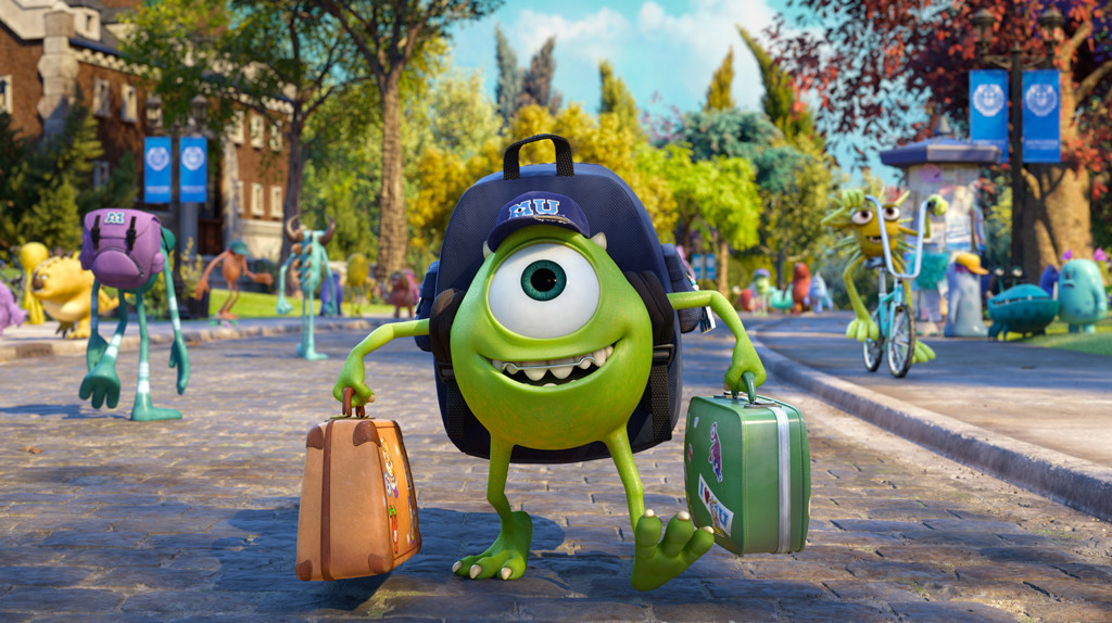 Monsters University - Film Review - by Richard Leathem  |Monster University Character Mike