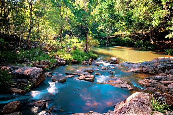 mothar, rock pools, creek, picnic, bushland