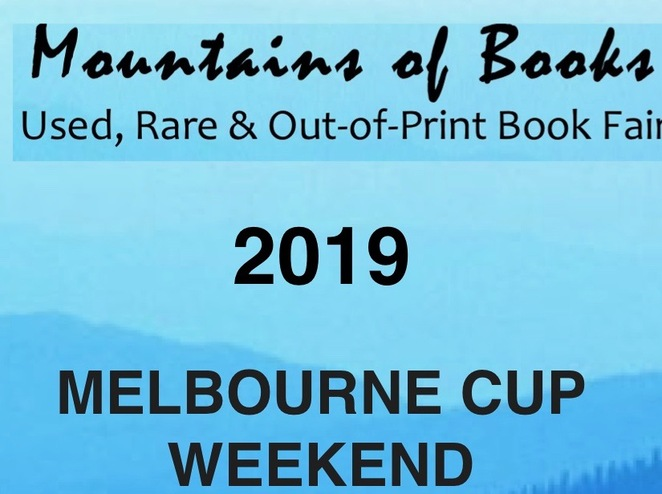 Mountains of Books Bookfair 2019