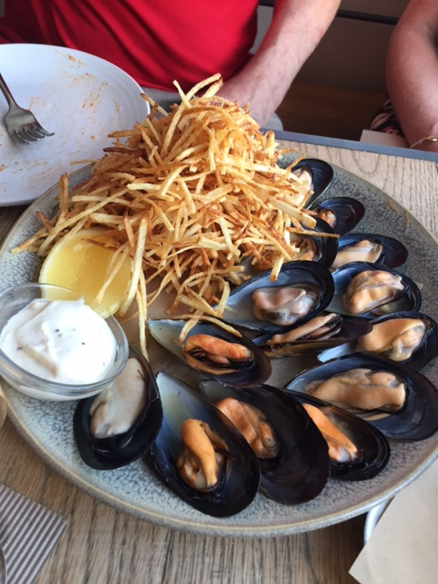 Mussels, food, papi chulo, merivale, manly
