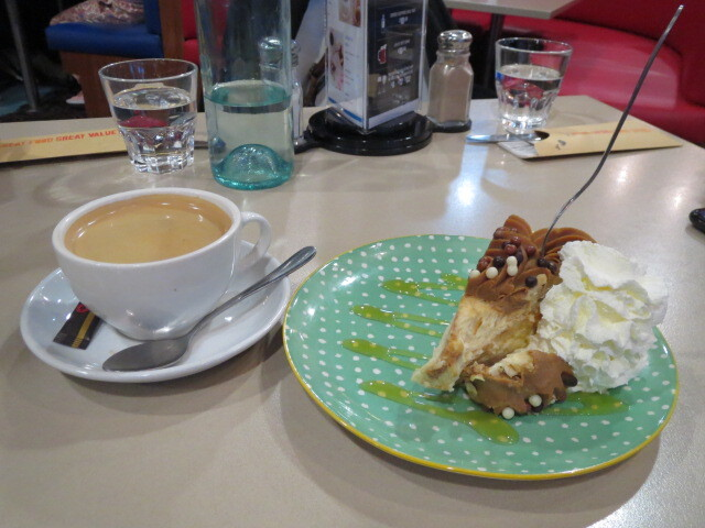 New York Bar & Grill, Cake and Coffee Combo, Adelaide