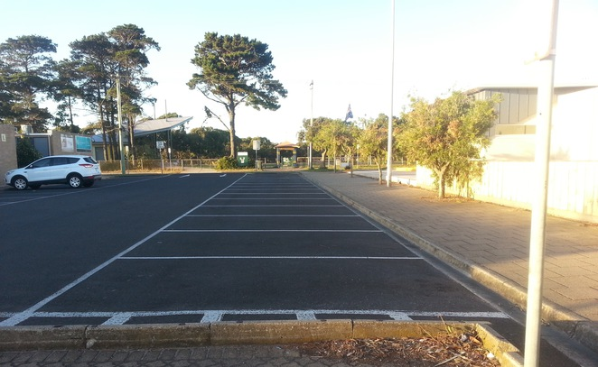 Ocean Grove, Shopping centre Carpark, Ocean Grove Park, Parking, The Avenue, The Parade