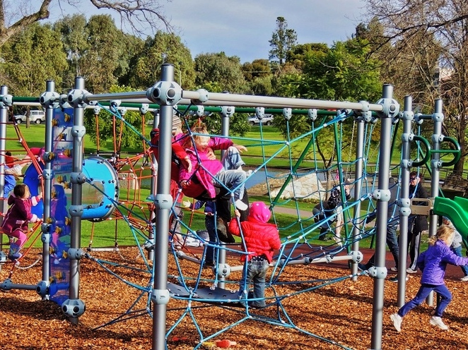parklands, adelaide parklands, sport and recreation, south parklands, bonython park, city of adelaide, activities for kids, fork on the road, rymill park playground
