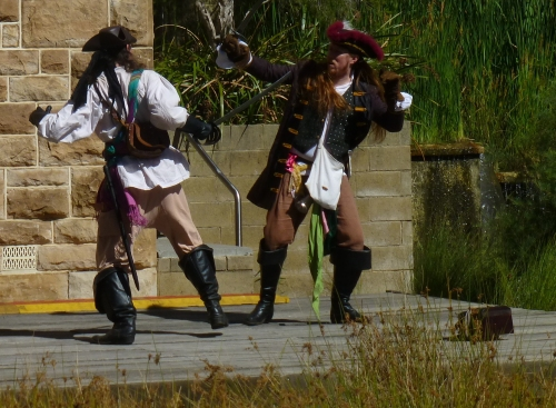 A Little Swashbuckling for Fun