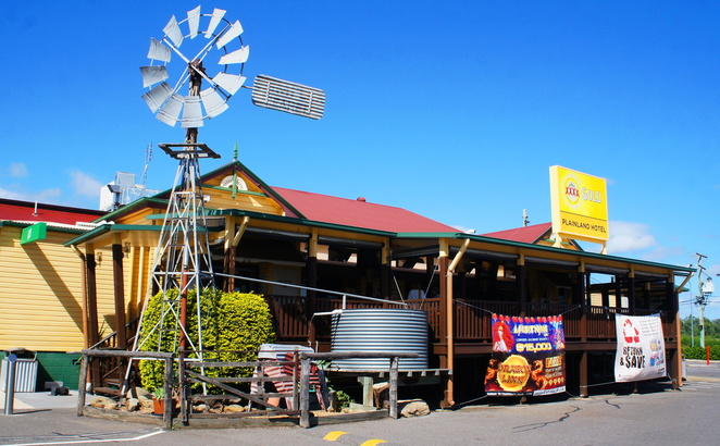 On the drive between Brisbane and Toowoomba, it is always worth stopping at the Porters Plainland Hotel