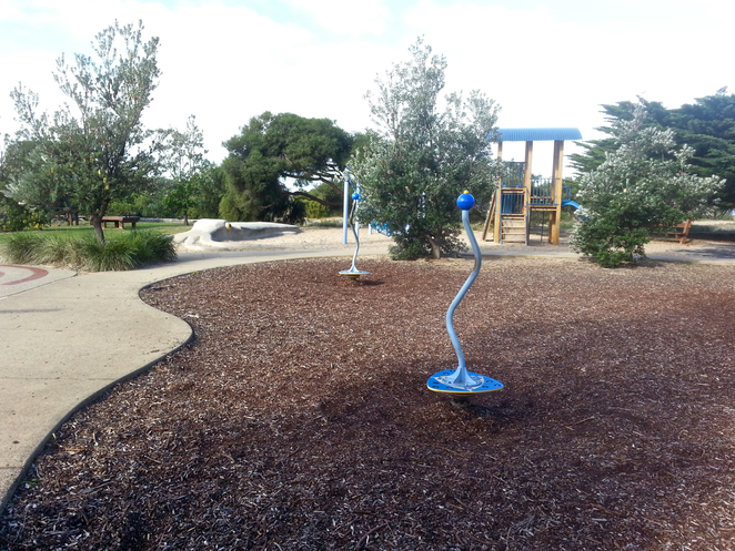 Princess Park, Queenscliffe, Bellarine, Parks, Picnic Spots, Playgrounds, near Geelong, fun for kids, spots for kids, Spinners,