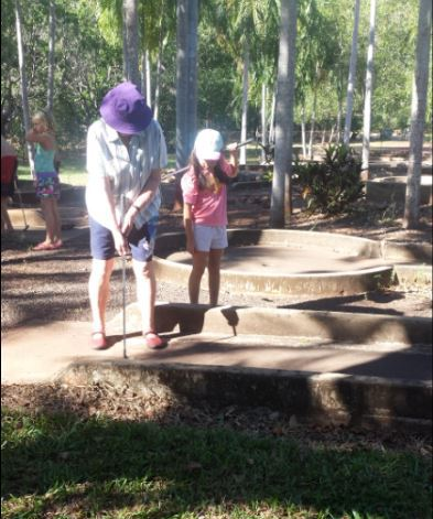 Putt putt golf, recreational area, accomodation