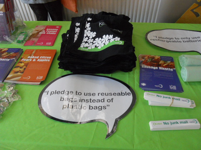 recycle, upcycle, reusable bags, rechargeable batteries