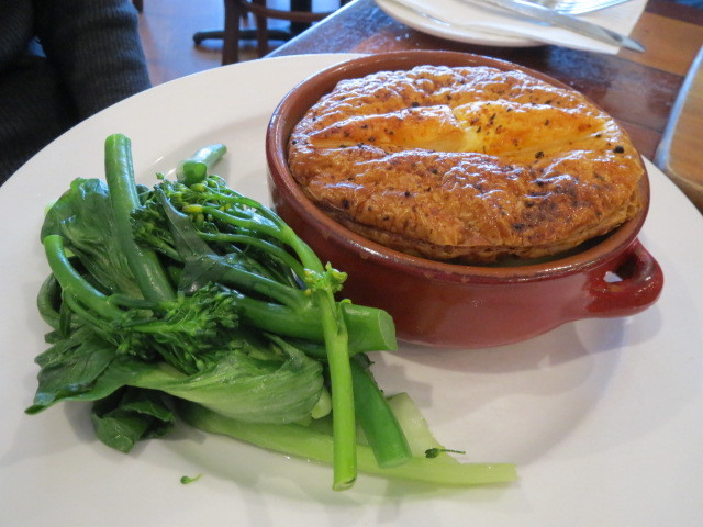 Restaurant Tranquilo, Chicken Pot Pie, Adelaide