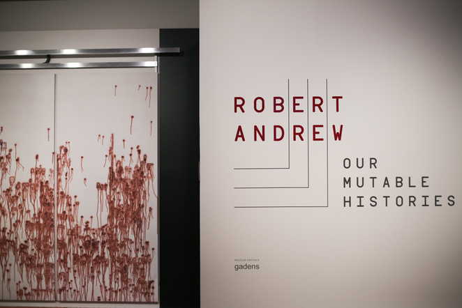Robert Andrew: Our mutable histories exhibition at Museum of Brisbane