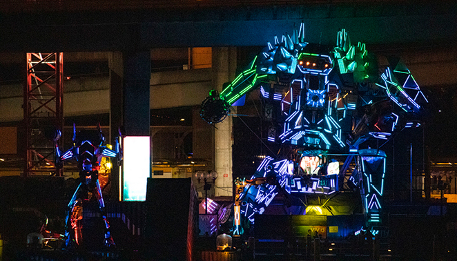 robot spaceland comes to chapel street precinct 2021, community event, fun things to do, city of stonnington, stonnington city council sci fi, grattan gardens, prahran square, chapel off chapel, entertainment, family fun, chapel adventure, entertainment, space robots