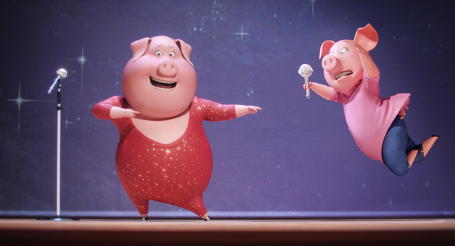 Sing, Animation, film, movie review, Adelaide, comedy, kids movie, Matthew McConaughey, animals, music, musical, family, G rated, Australia, Universal Pictures, Illumination Entertainment