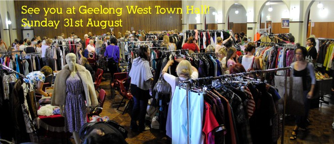 Take 2 Markets, Rina Chia, Geelong West Town Hall, Geelong Markets, recycled fashion, vintage, designer labels