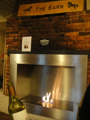 The Barn - Fire place