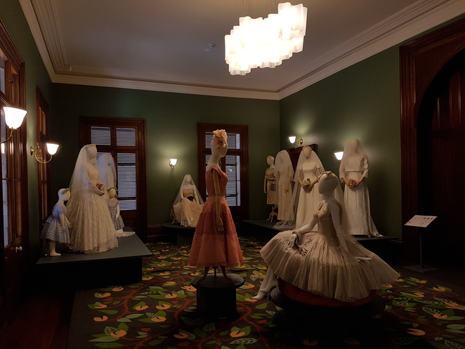 The bowerbird and the bride, marion boyce, old government house, brisbane