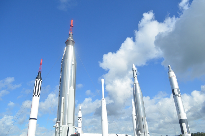 The Kennedy Space Center Visitor Experience, Rockets, Rocket Garden