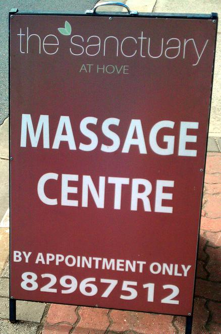 the sanctuary at hove, massage clinic