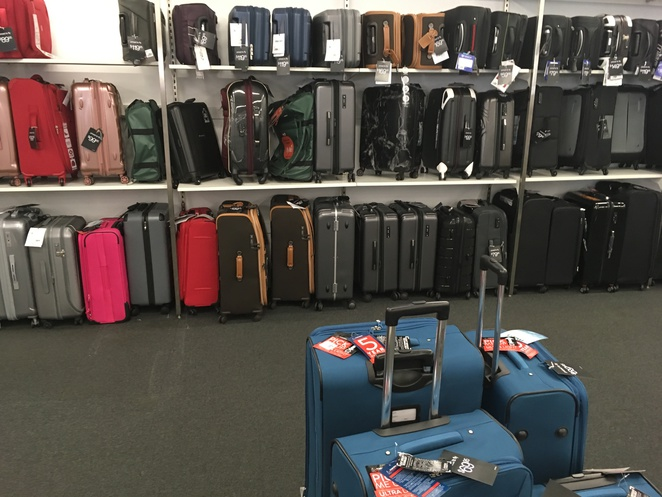 TK Maxx, discounted designer brands, cheap bags, discounted suitcases, cheap travel bags, Tosca suitcases