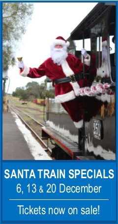 Santa on the Bellarine Railway