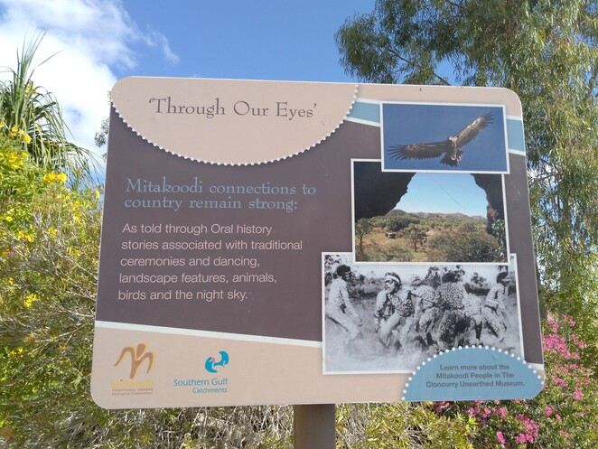 walking track, lookout, Cloncurry, Cloncurry Unearthed Visitor Information Center, Queensland