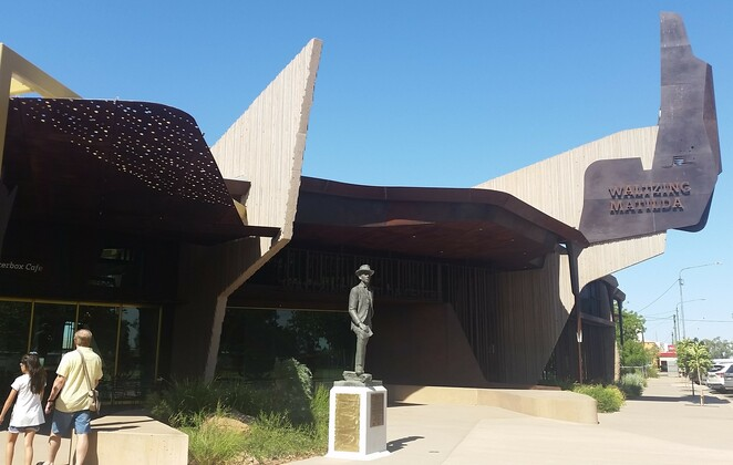 Waltzing Matilda, museum, Winton, Queensland, outback