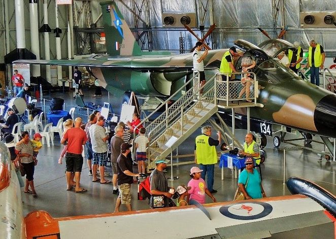 Museums in the Port, free, port adelaide, boatfest festival, boatfest, museums, Adelaide, kids, children, f111 fighter