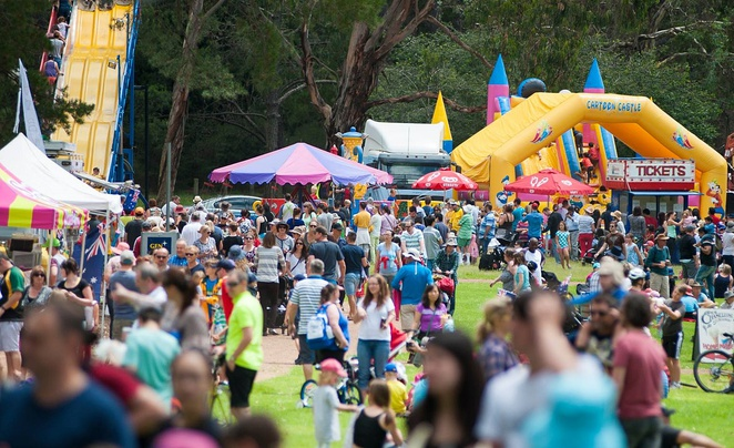 australia day, family friendly events, festivals, ACT, commonwealth park,