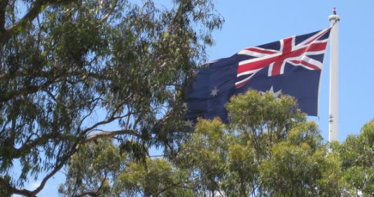 Australian Flag Picnic Point