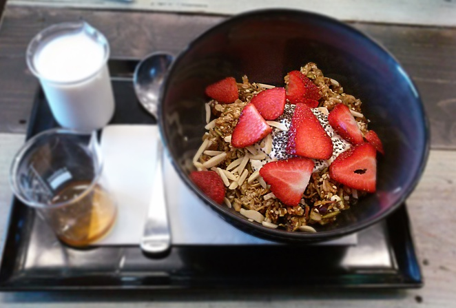 granola, bespoke, canberra, fyshwick, pushys, bikes, best cafes, breakfast, lunch, coffee,