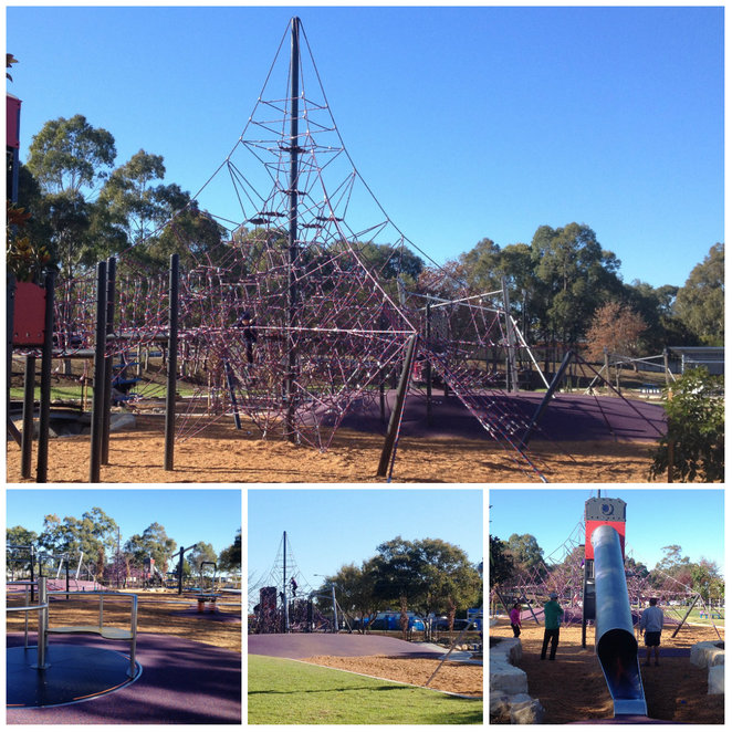 Birriwa Reserve Outdoor Youth Space
