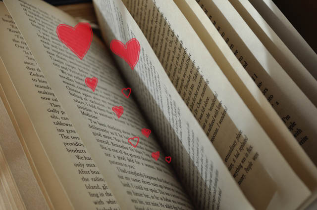 Library, books, love, State Library, romance