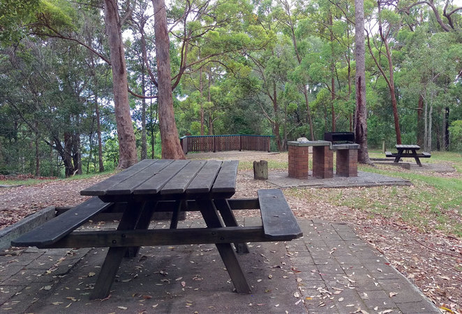 Camp Mountain has a great barbecue and picnic area