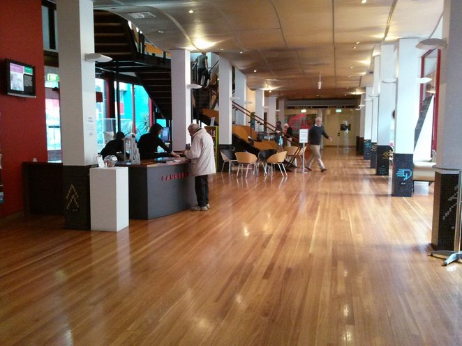Canberra Museum and Gallery foyer